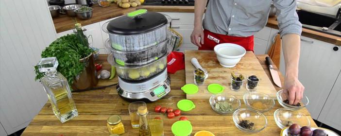 cuiseur vapeur Seb vitacuisine dans cuisine